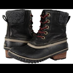 Sorel Slimpack II Lace Duck Boot Sz 7